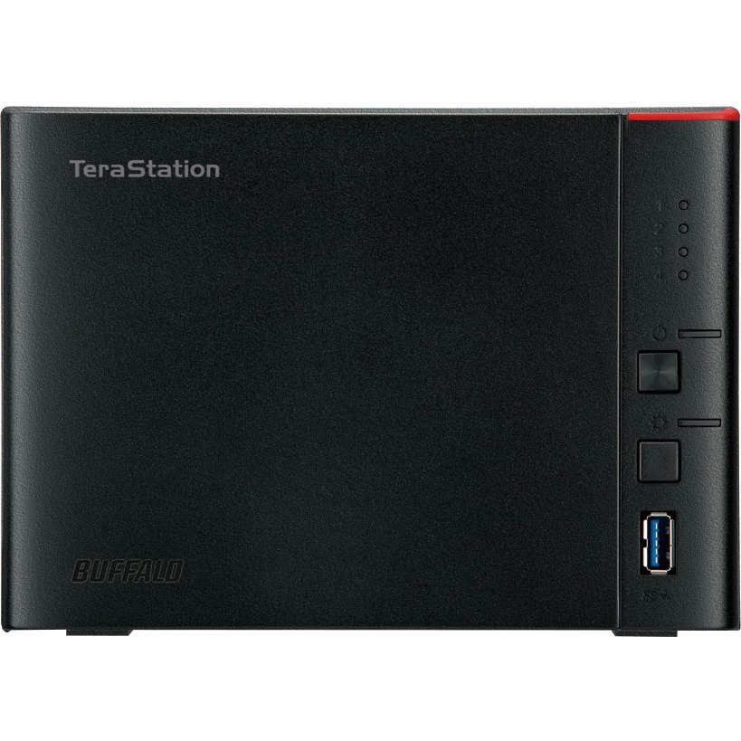 Buffalo TeraStation TS1400D1204 4 x Total Bays NAS Server - Marvell ARMADA 370 Dual-core 2 Core 1.20 GHz - 12 TB HDD 4 x 3 TB - 512 MB RAM DDR3 SDRAM - Serial AT