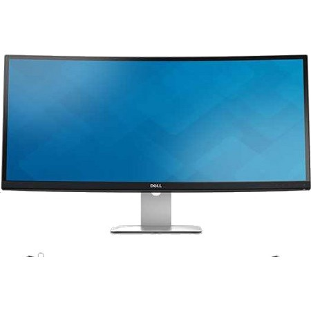 Dell UltraSharp U3415W 86.4 cm 34inch LED LCD Monitor - 21:9 - 5 ms - 3440 x 1440 - 1.07 Billion Colors - 300 cd/mAnd#178; - 2,000,000:1 - WQHD - Speakers - HDMI - Disp