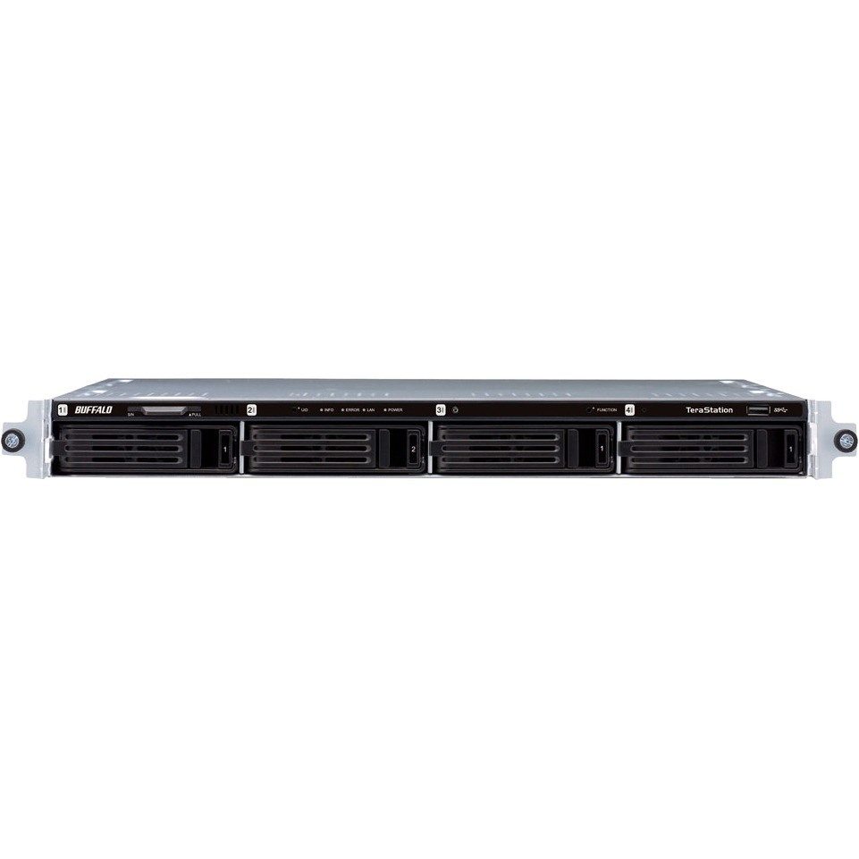 Buffalo TeraStation TS1400R0404 4 x Total Bays NAS Server - 1U - Rack-mountable