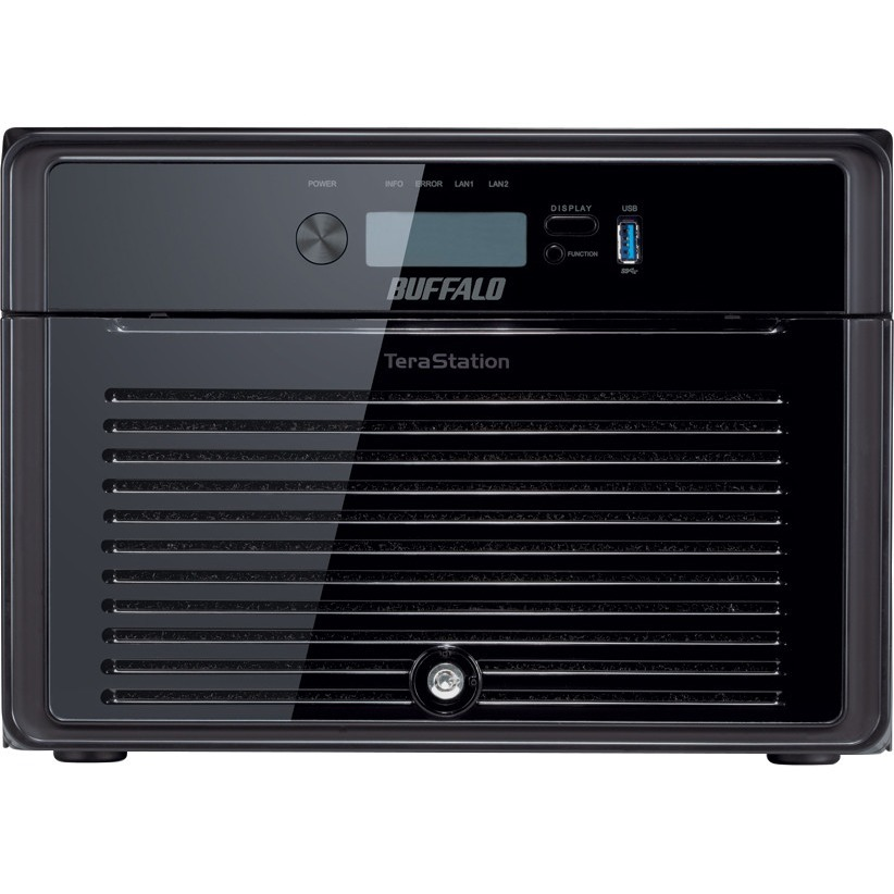 Buffalo TeraStation TS5800DWR 8 x Total Bays NAS Server - 1 x Intel Atom D2700 Dual-core 2 Core 2.13 GHz - 16 TB HDD - 2 GB RAM DDR3 SDRAM - Serial ATA/300 - RAID