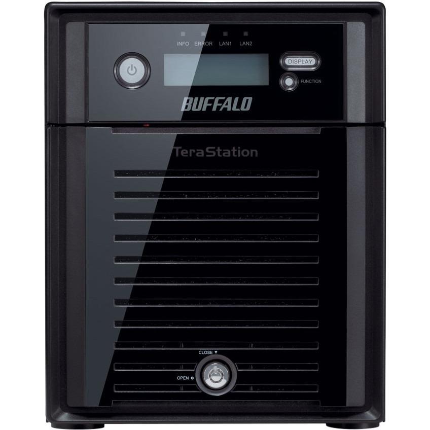 Buffalo TeraStation WS5400DRW2 4 x Total Bays NAS Server - 1 x Intel Atom D2550 Dual-core 2 Core 1.86 GHz - 4 TB HDD - 4 GB RAM DDR3 SDRAM - Serial ATA/300 - RAID