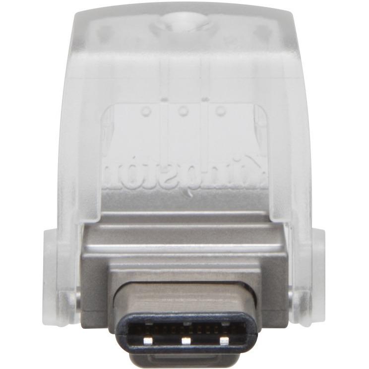 Kingston DataTraveler microDuo 3C 64 GB USB 3.1 Flash Drive