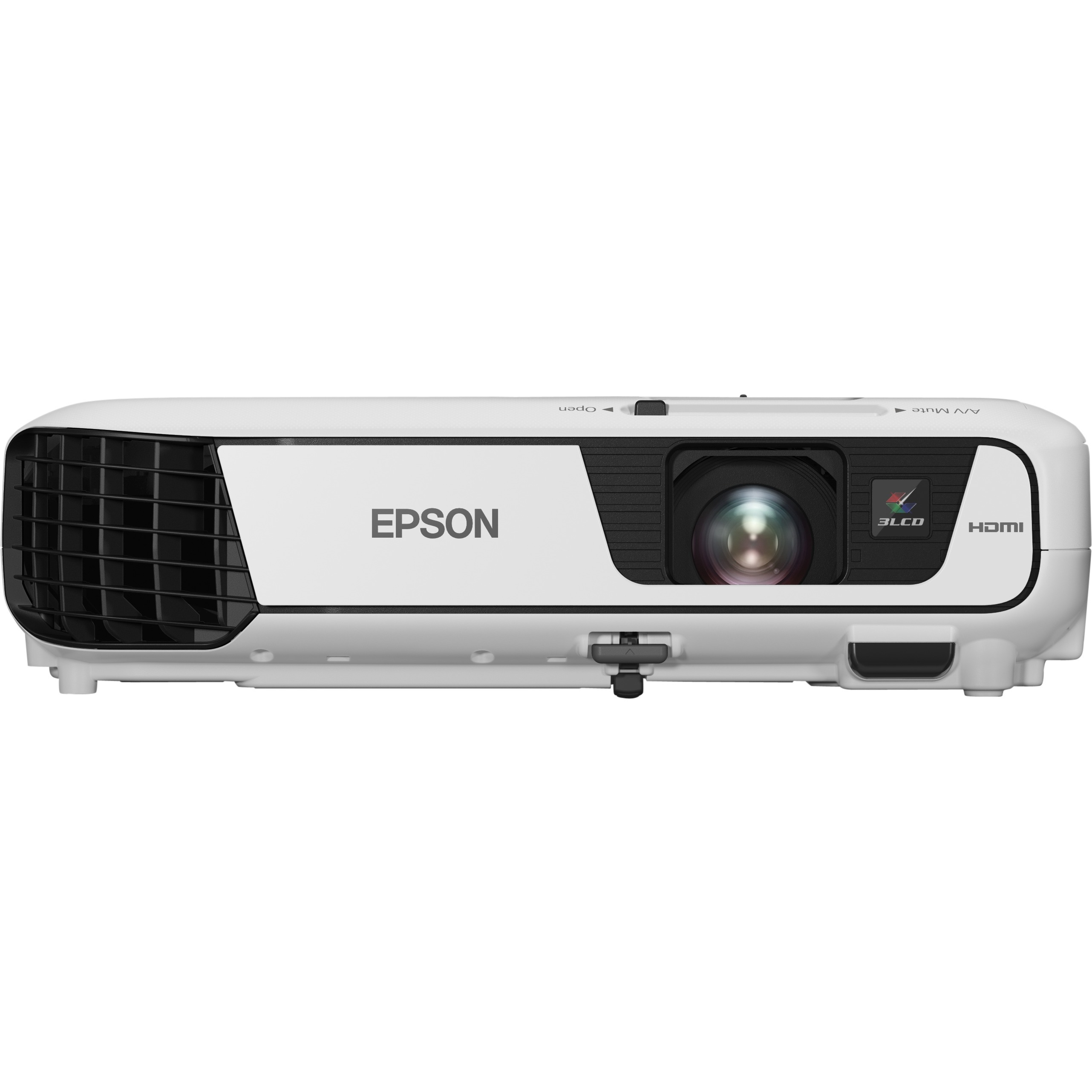 Epson EB-S31 LCD Projector - 4:3 - Front, Ceiling - 200 W - 5000 Hour Normal Mode - 10000 Hour Economy Mode - 800 x 600 - SVGA - 15,000:1 - 3200 lm - HDMI - USB - 27