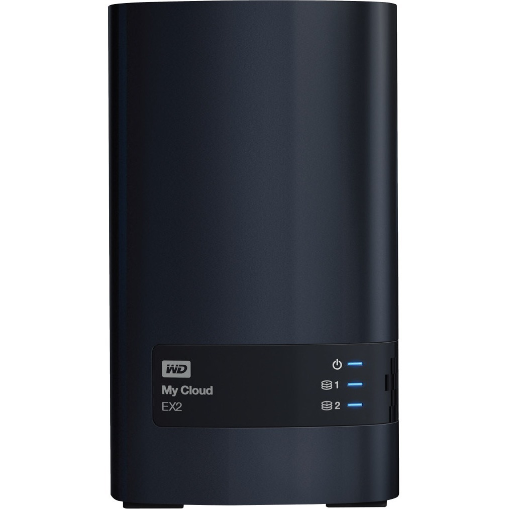 WD My Cloud EX2 WDBVBZ0000NCH-EESN 2 x Total Bays NAS Server