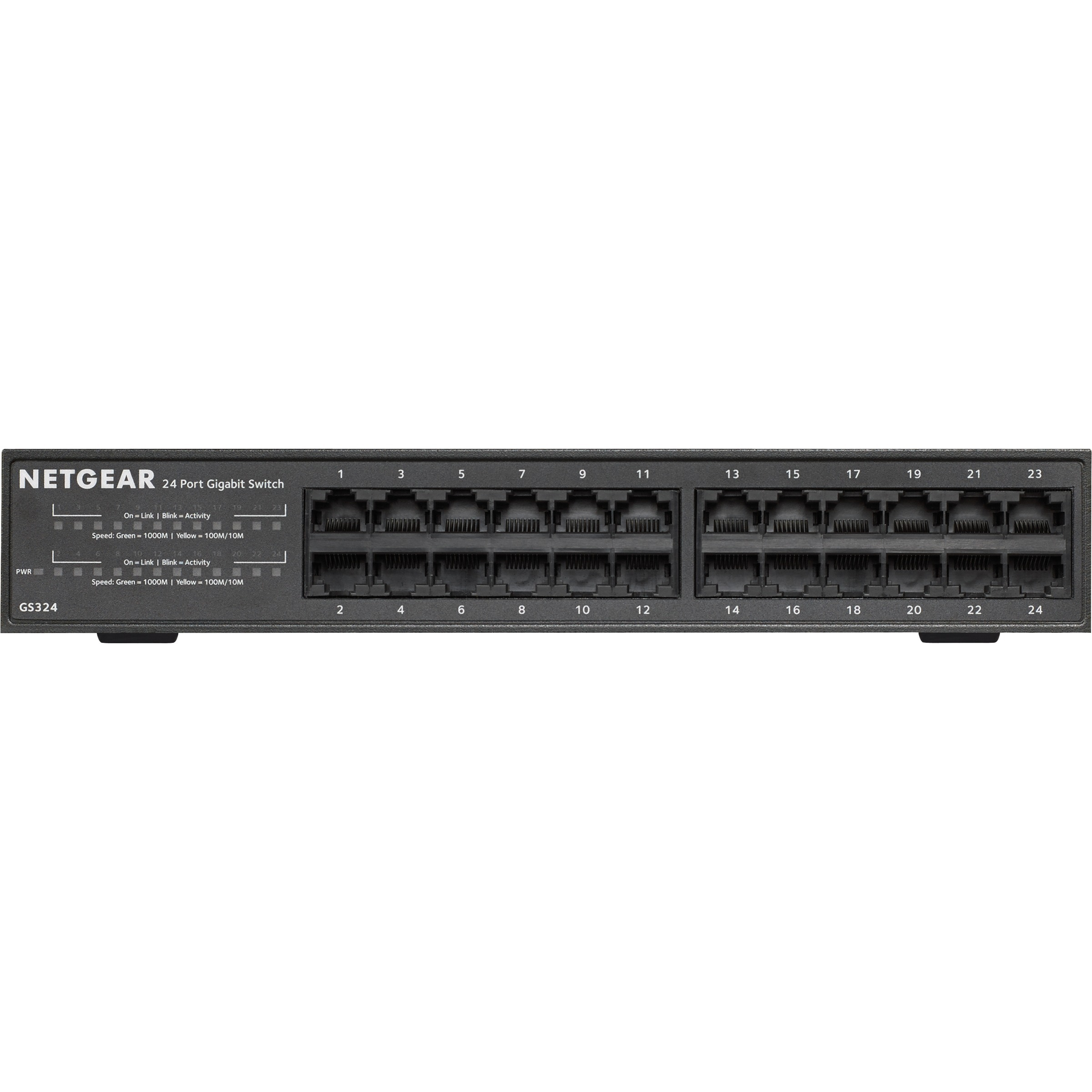 Netgear Ethernet Switch - 24 - 2 Layer Supported