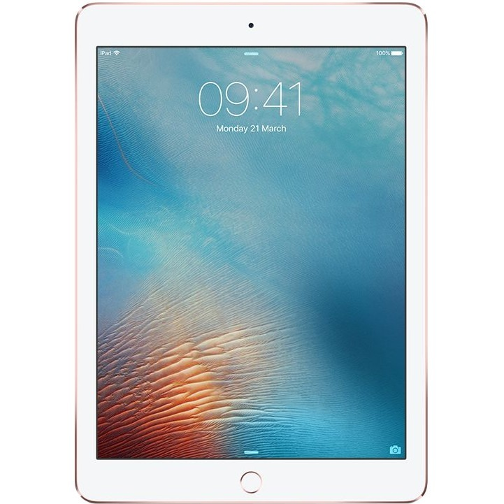 Apple iPad Pro Tablet - 24.6 cm 9.7inch - Apple A9X Dual-core 2 Core - 32 GB - iOS 9 - 2048 x 1536 - Retina Display, In-plane Switching IPS Technology - Rose Gold