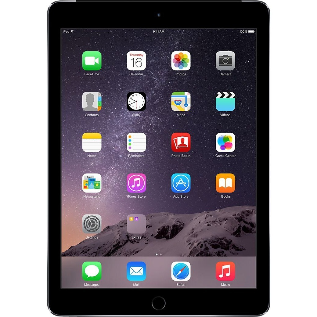 Apple iPad Air 2 32 GB Tablet - 24.6 cm 9.7inch 4:3 Multi-touch Screen - 2048 x 1536 - Retina Display, In-plane Switching IPS Technology - Apple A8X Triple-core 3