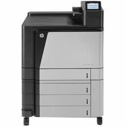 HP LaserJet M855xh Laser Printer - Colour - Plain Paper Print - Desktop