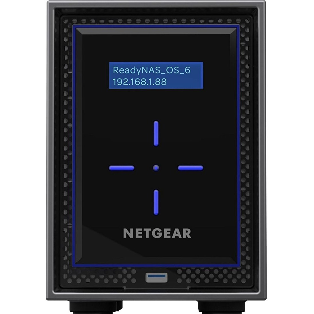 Netgear ReadyNAS RN422 2 x Total Bays SAN/NAS Server - Desktop