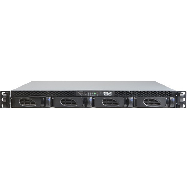 Netgear ReadyNAS RR230400 4 x Total Bays SAN/NAS Storage System - 1U - Rack-mountable