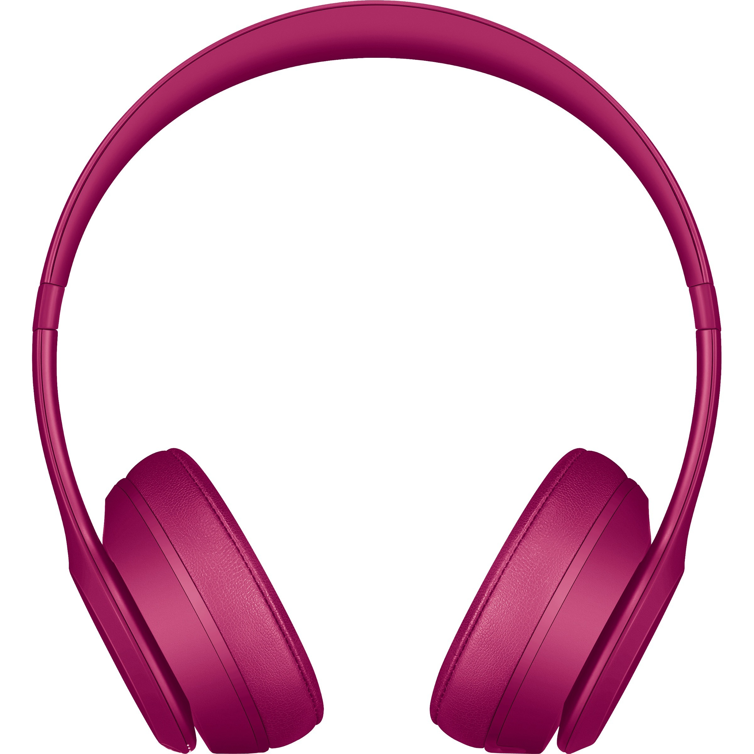 Beats by Dr. Dre Solo3 Wired/Wireless Bluetooth Stereo Headset - Over-the-head - Circumaural - Brick Red - Mini-phone