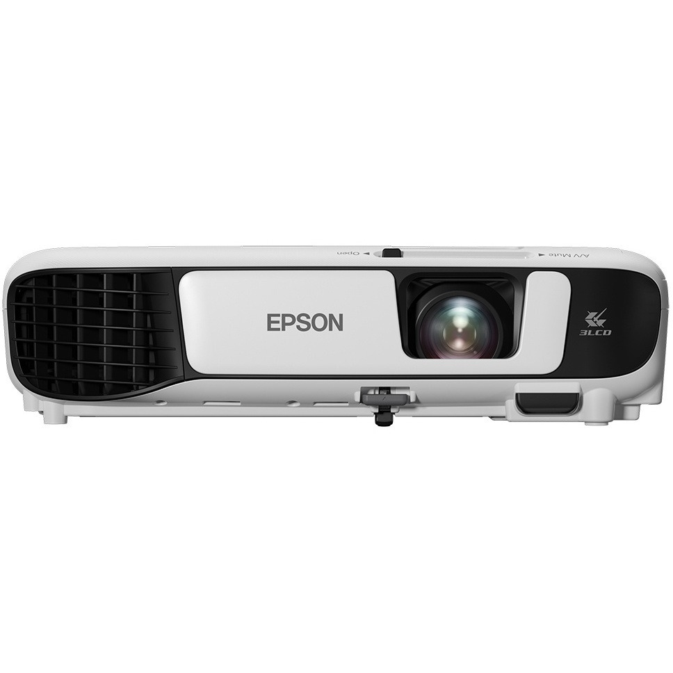 Epson EB-S41 DLP Projector - 4:3 - 800 x 600 - Front, Ceiling - 6000 Hour Normal Mode - 10000 Hour Economy Mode - SVGA - 15,000:1 - 3300 lm - HDMI - USB