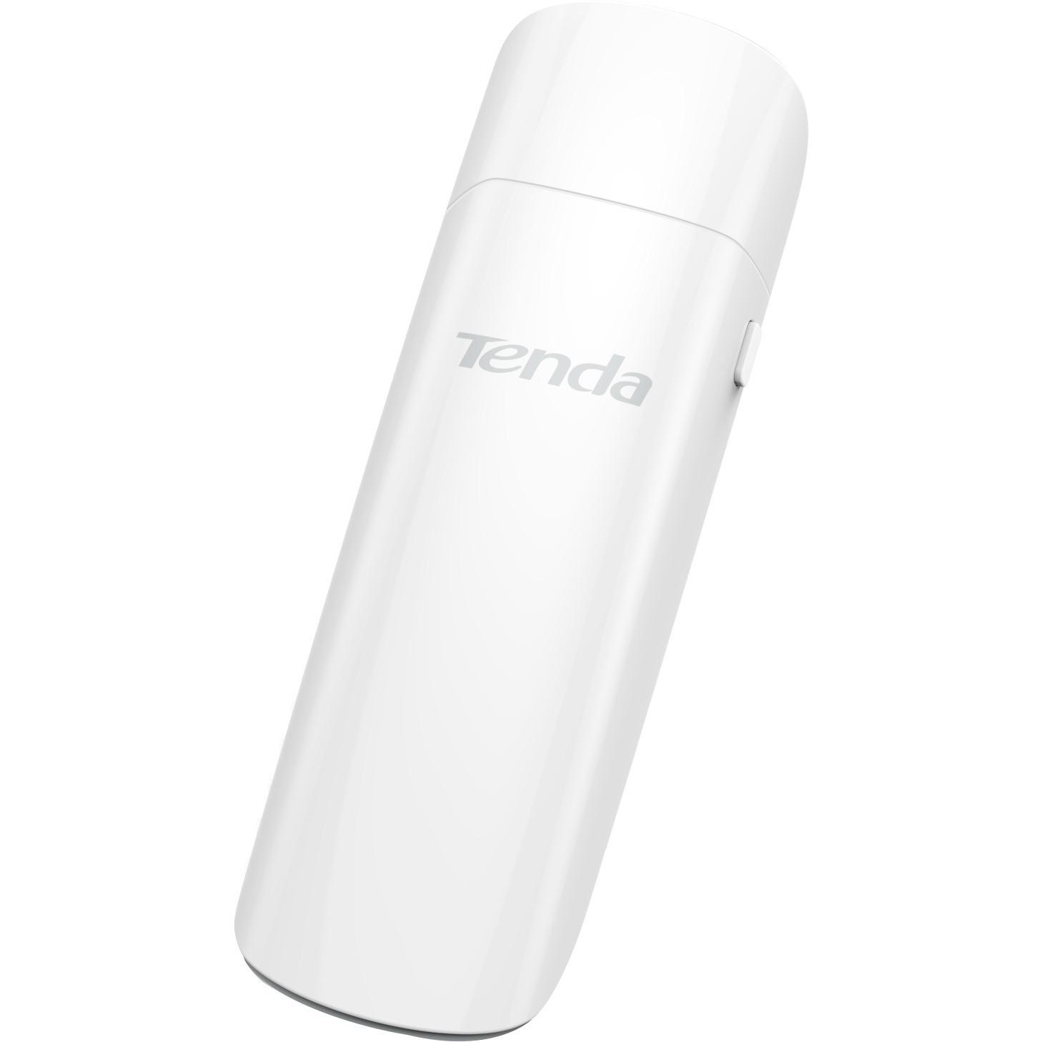 Tenda U12 IEEE 802.11ac - Wi-Fi Adapter - USB 3.0 - 1.27 Gbit/s - 2.40 GHz ISM - 5 GHz UNII - External