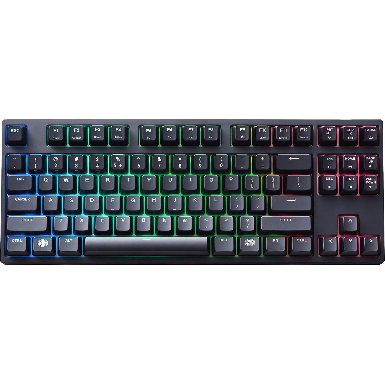 Cooler Master Masterkeys Pro S SGK-6030-KKCM1 Mechanical Keyboard  - Black