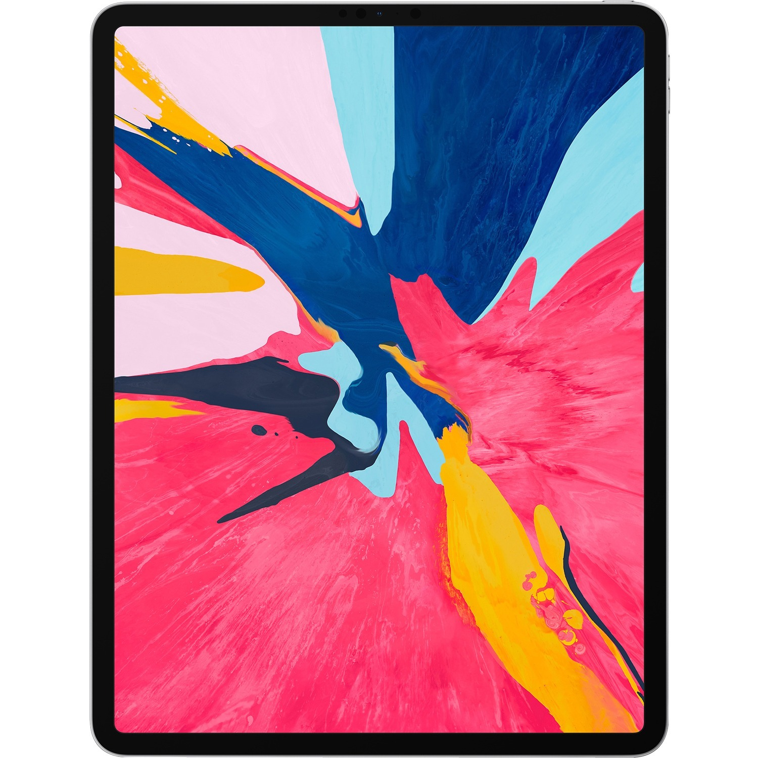 Apple iPad Pro 3rd Generation Tablet - 32.8 cm 12.9And#34; - 256 GB Storage - iOS 12 - 4G - Silver - Apple A12X Bionic SoC - 7 Megapixel Front Camera - 12 Megapixel Re