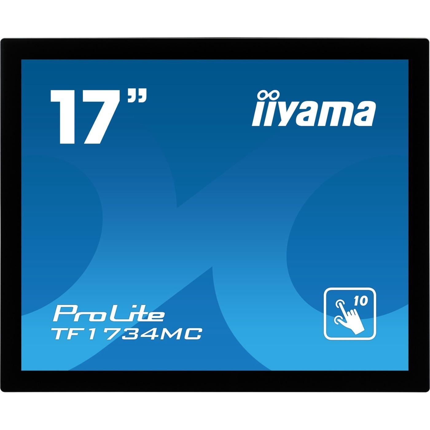 iiyama ProLite TF1734MC-B6X 43.2 cm 17inch Open-frame LCD Touchscreen Monitor - 5:4 - 5 ms