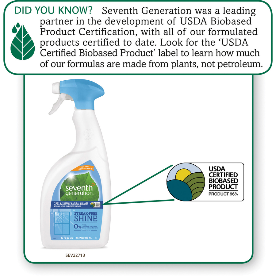 Discount Seventh Generation Free/Clear Glass Cleaner SEV22713
