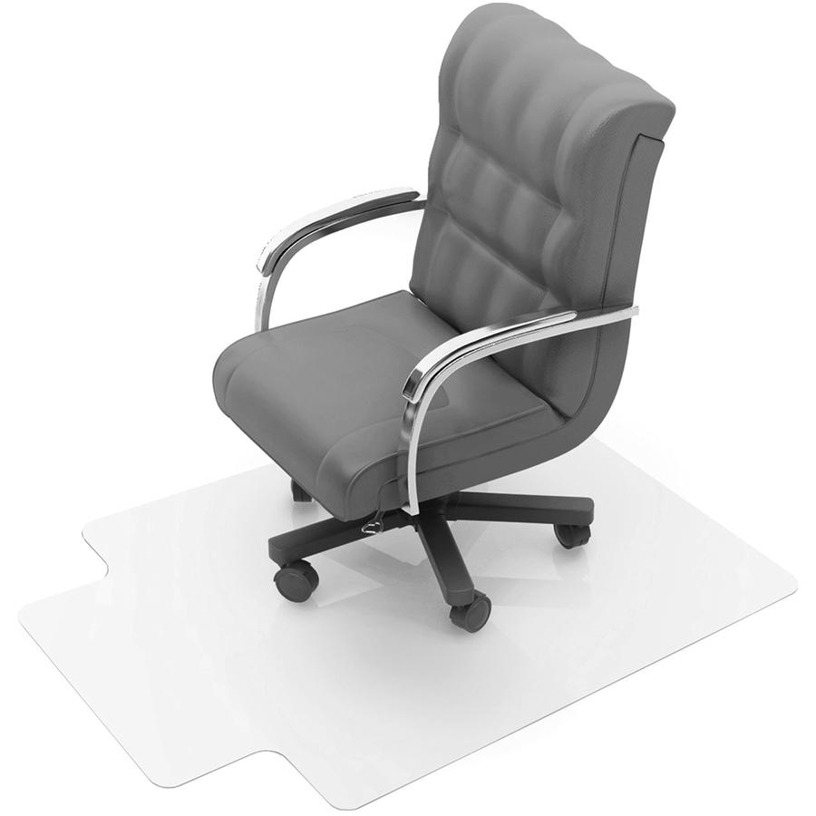 Cleartex deep pile polycarbonate chairmat - Deep pile carpet protector ...