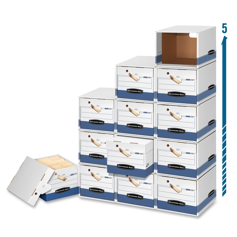 Bankers Box File/Cube Box Shells - Internal Dimensions: 13