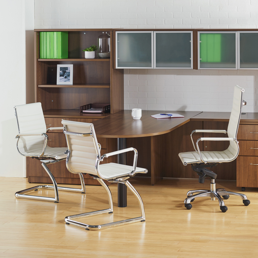 Lorell Modern Guest Chairs - 2/CT - Lorell