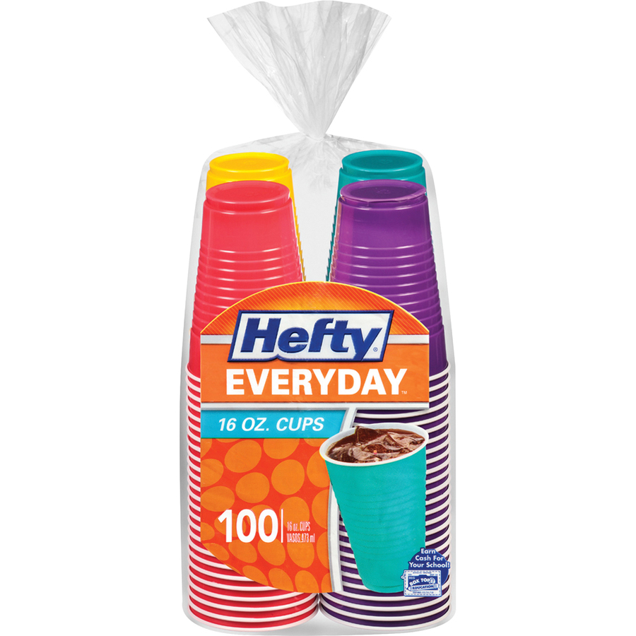 Wholesale Hefty Everyday 16 Oz Disposable Party Cups