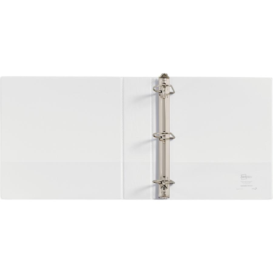 avery durable slant d ring view binder servmart