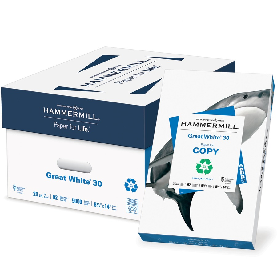 ham86704 hammermill paper for copy laser  inkjet print