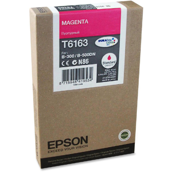 Epson DURABrite T6163 Ink Cartridge - Magenta