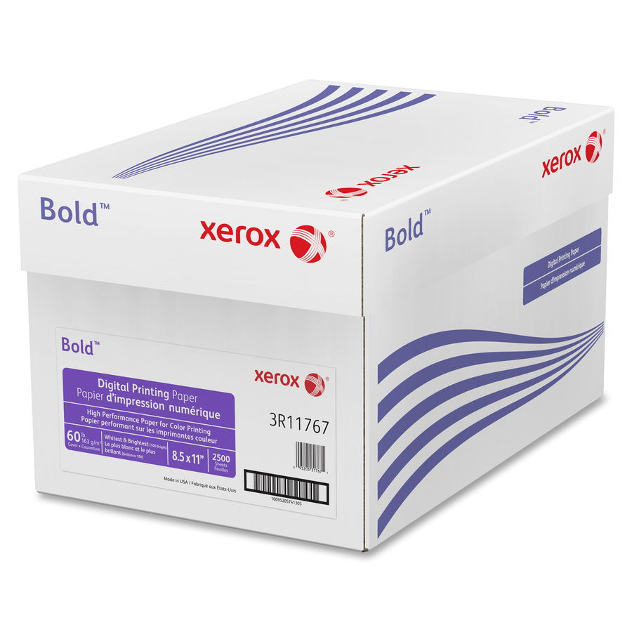 "Xerox Bold Digital Printing Paper - Letter - 8 1/2"" x 11 ... - photo#26"