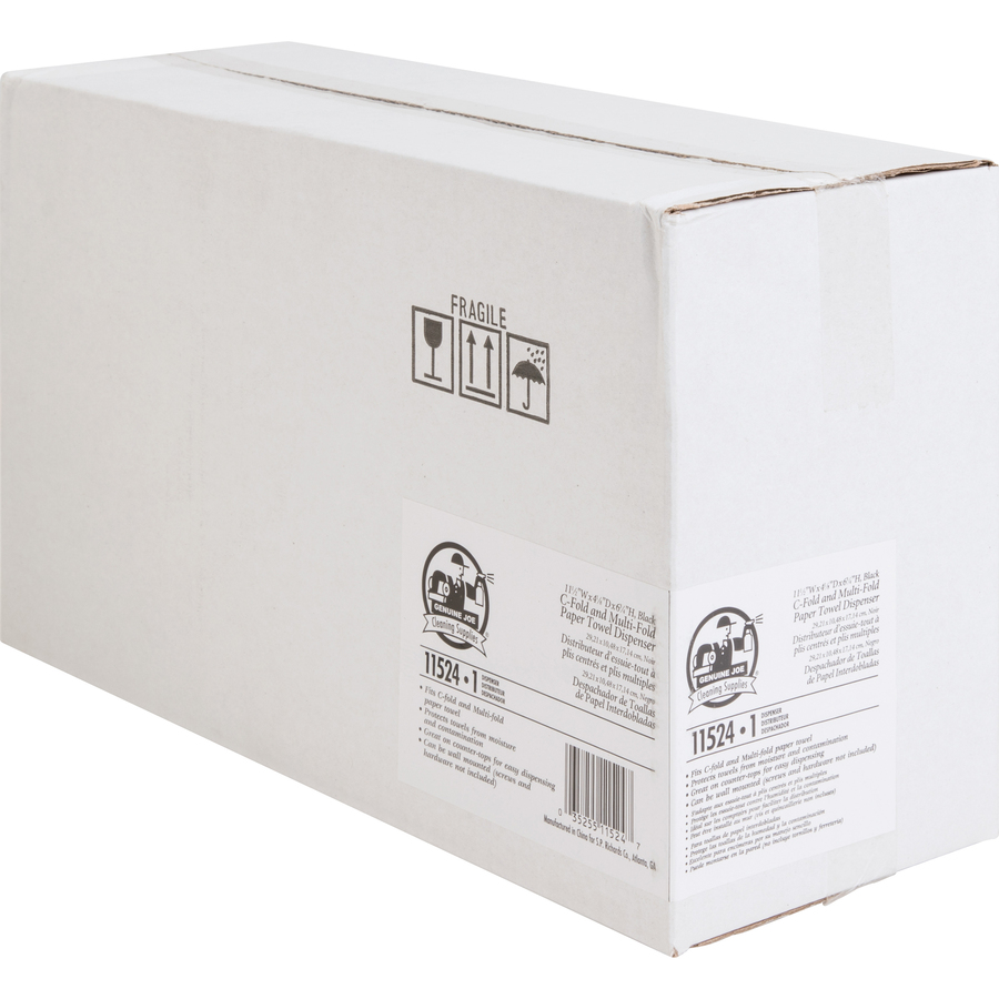 Gjo11524 Genuine Joe Paper Towel Dispenser Zuma