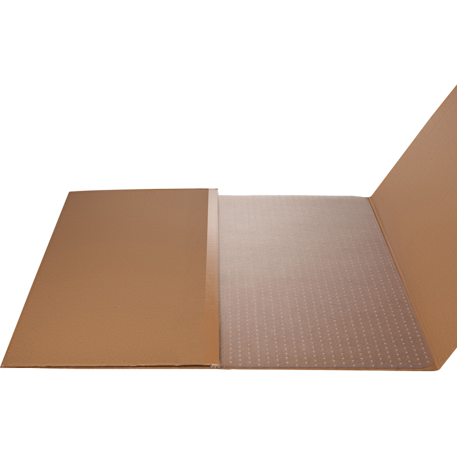 Lorell Xxl Polycarbonate Chairmat Hard Floor Carpeted
