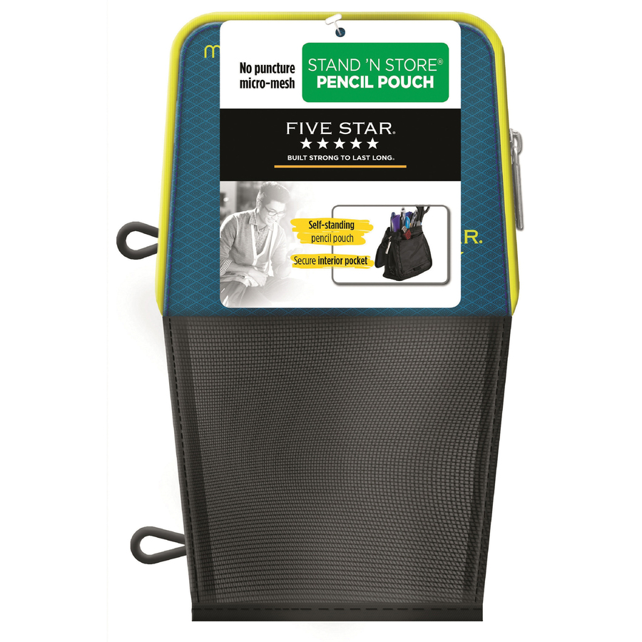 Five Star Stand N Store Carrying Case Pouch Pencil