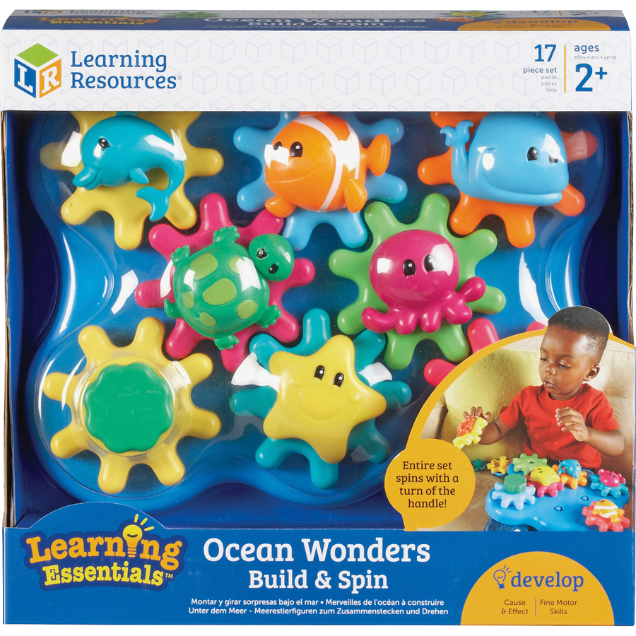 Learning Resources Jr Gears Under Sea Building Set Theme Subject Learning Skill Learning Fine Motor Building Thinking Creativity