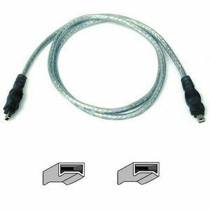 Belkin FireWire Cable - Male FireWire - Male FireWire - 14ft - Ice