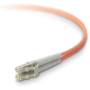 Belkin - Network cable - LC multi-mode (M) - LC multi-mode (M) - 10 ft - fiber o