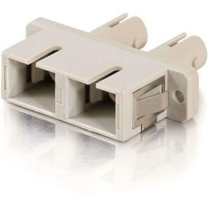 C2G SC Female to ST Female Duplex Fiber Adapter