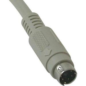 C2G 15ft PS/2 M/M Keyboard/Mouse Cable - mini-DIN (PS/2) Male - mini-DIN (PS/2) Male - 15f