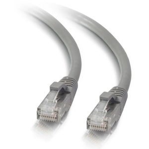 14ft Cat5e Snagless Unshielded (UTP) Ethernet Network Patch Cable | Gray