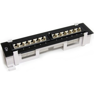 cat6a patch panel wall mount