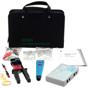 StarTech.com Professional RJ45 Network Installer Tool Kit with Carrying Case - Network Ins