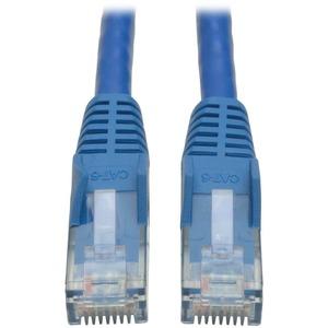 Tripp Lite 10ft Cat6 Gigabit Snagless Molded Patch Cable RJ45 M/M Blue 10'