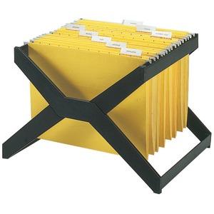 XR206 deflecto Desktop Hanging File X-Rack - 25 x Hanging Folder