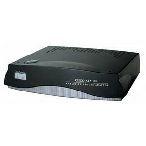 Cisco 186 VoIP Gateway - 1 x RJ-45 - 2 x FXS