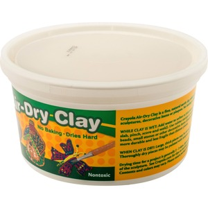 575050 Crayola Air-Dry Clay - Clay Craft - 1 Each - White for