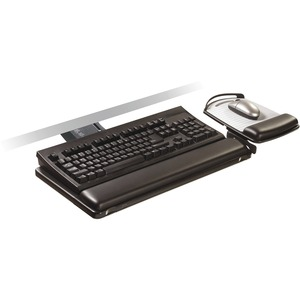 3M ADJUSTABLE KEYBOARD TRAY/SIT STAND AKT180LE