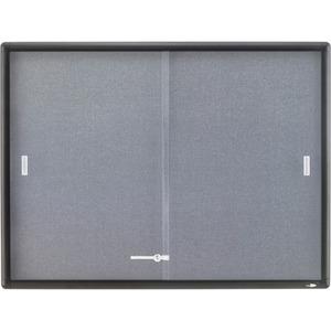 Quartet Enclosed Bulletin Board - 36