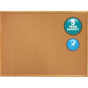 Quartet Classic Series Cork Bulletin Board - 24