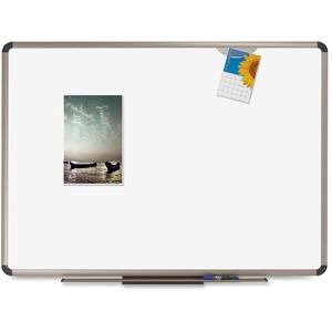 Quartet Prestige Plus DuraMax Porcelain Magnetic Dry-Erase Board - 48
