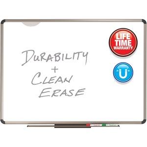 Quartet Prestige Plus DuraMax Magnetic Dry-Erase Board - 96
