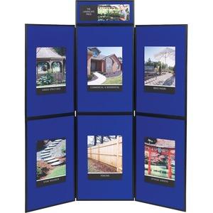 Quartet Show-It! 6-sided Display System - 72